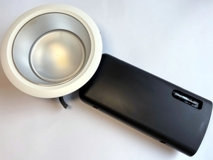 LED  ripplaevalgusti 14 W, D70-RF155 LED 1400 HF 840 LI SM/WH TRIM, Glamox, D70515655