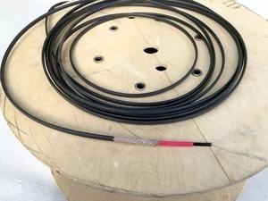Isereguleeruv küttekaabel TTGHL-2-BO, 23 W/m, 5°C, 230V, HTS ThermTrace® GutterHeat Lite