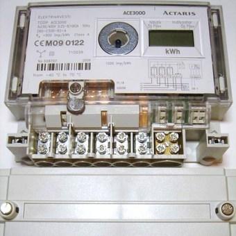 <p> Elektriarvesti 3-faasiline 2-tariifne 5-100A, ACE3000, Actaris</p>