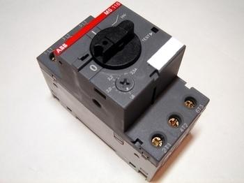 <p> Aвтомат защиты электродвигателя 3-фазный 1,6 - 2,5A, ABB, MS116-2,5, 1SAM250000R1007</p>