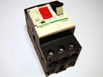 <p> Mootorikaitselüliti 3-faasiline 4 - 6,3A, Schneider Electric, GV2ME10, 034311</p>