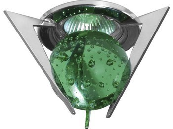 <p> Halogeenvalgusti 12 V, CTX-10+K4-C, Kanlux, rohelise klaaskeraga</p>