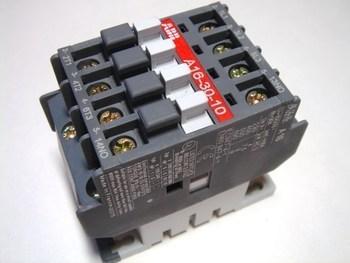 <p> Kontaktor 3-faasiline 30A(19kW), A16-30-10, ABB, 1SBL181001R8010</p>