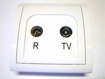 <p> TV - antenni süvispaigaldusega pistikupesa MA10.01/11, Kontakt-Simon (sari - Classic)</p>