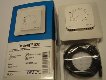 <p> Ostan termostaate Devireg™ 532 (15А) 3450 W.</p>