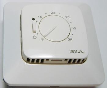 <p> Termostaat Devireg™ 531 (15А) 3450 W, 140F1036</p>