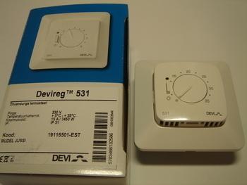 <p> Ostan termostaate Devireg™ 531 (15А) 3450 W.</p>