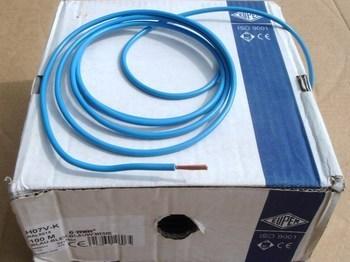 <p> Vask juhe 6 mm², H07V-K, sinine, kiuline</p>