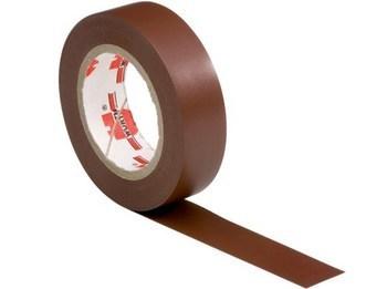 <p> Elektriteip 15mmx10m, pruun, 3M, Temflex™1500</p>
