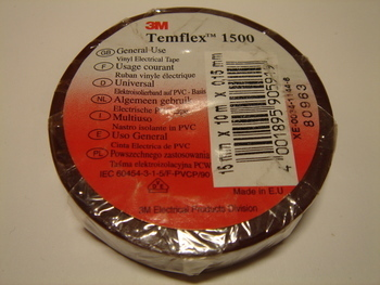 <p> Ostan elektriteipe 15mmx10m, pruune</p>