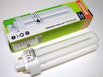 "<p> Kompakt-luminofoorlamp 42 W, Osram Dulux T/E Plus, 42W/840/GX24q-4, <span style=""color: #ff0000"">4-PIN</span>, 425627</p>"