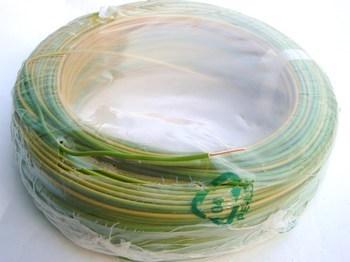 <p> Vask juhe 2,5 mm², kolla-roheline, plank</p>