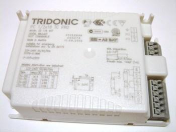 <p> Elektrooniline drossel 1x18 W või 2x18 W, Tridonic PC 1/2x18 TC PRO, 22176407</p>