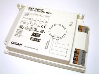 <p> Электронный дроссель 1x40 Вт, Osram, Quicktronic® QT-FC 1x40/230-240 S</p>