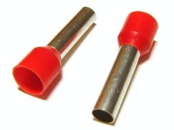 <p> Isoleeritud otsahülss 10mm², punane, Haupa, 270824</p>