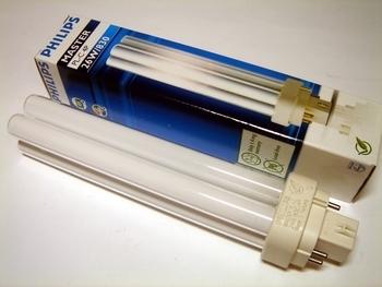 "<p> Kompakt-luminofoorlamp&nbsp;26 W, Master PL-C, 26W/830/G24q-3, <span style=""color: #ff0000"">4-PIN</span>, Philips, 623355</p>"