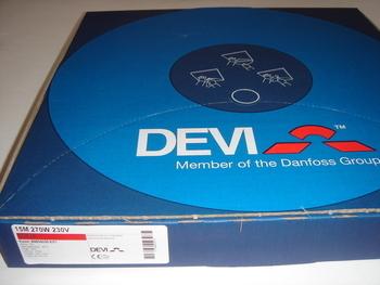 <p> Ostan küttekaablit Deviflex 270 W, 15 m, 230 V, DTIP-18 W/m.</p>