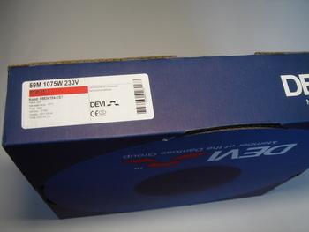 <p> Ostan küttekaablit Deviflex 1075 W, 59 m, 230 V, DTIP-18 W/m.</p>