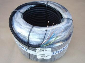 <p> Труба гибкая гофрированная с медными проводами 5 x 2,5 мм², Profit, Draka</p>