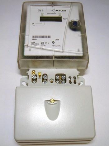 <p> Elektriarvesti 1-faasiline 2-tariifne 5-80A, SM1, Actaris</p>