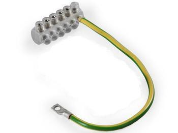 <p> Nulljuhtme ühendusklemm 35 mm², KE10.3, Ensto</p>
