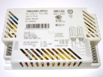 <p> Elektrooniline drossel 2 x 9/11/13 W, Tridonic Atco, PC 2/9/11 TCS PRO, 22176028</p>