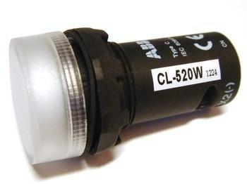 <p> Signaaltuli CL-520W, ABB, 1SFA619402R5205</p>