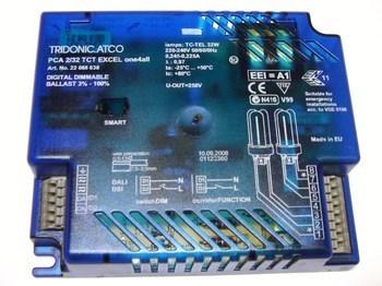 <p> Elektrooniline drossel 2 x 32 W, Tridonic Atco, PCA 2/32 TCT Excel one4all, 22088638</p>