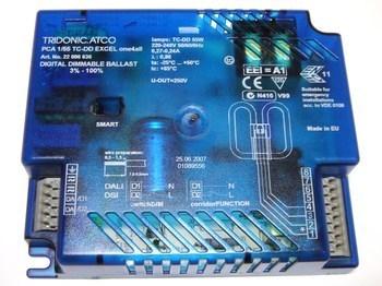 <p> Elektrooniline drossel 1 x 55 W, Tridonic Atco, PCA 1/55 TC-DD Excel one4all, 22086636</p>