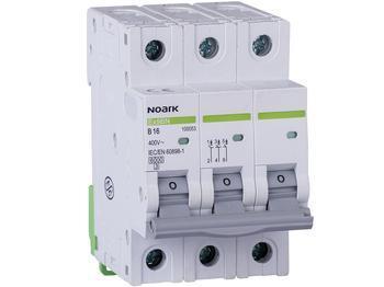 <p> Moodulkaitselüliti 3-faasiline, B 16A, Noark, Ex9BN, 100053</p>