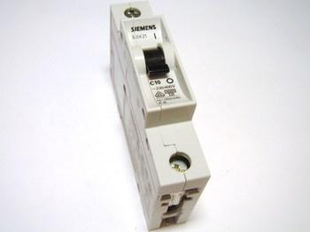 <p> Модульный автоматический выключатель 1-фазный, C 10A, Siemens, 5SX2 110-7</p>