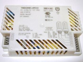 <p> Elektrooniline drossel 2 x 18/22/24/26/32 W, Tridonic Atco, PC 2/26/32 TCT PRO, 22088943</p>
