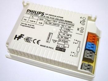 <p> Elektrooniline drossel 1 x 55 W, Philips, HF-R 155 TL5C, 935783</p>