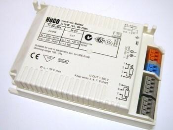 <p> Elektrooniline drossel 2x18 W, Hüco, 097585</p>