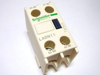 <p> Lisakontaktid peale 1NO + 1NC, LADN11, Schneider Electric, 038383</p>