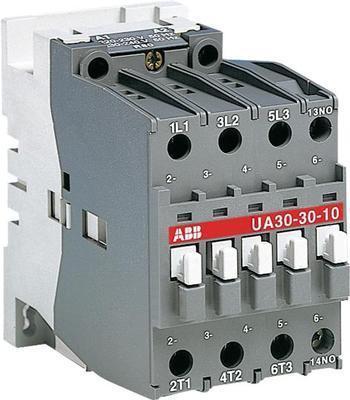 <p> Kontaktor 3-faasiline 65A(42kW), UA30-30-10, ABB, 1SBL281022R8010</p>