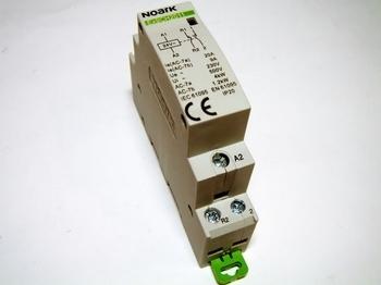 <p> Moodulkontaktor 1-faasiline 20A(4kW), Ex9CH20, Noark, 102401</p>