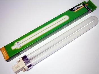 "<p> Kompakt-luminofoorlamp 11 W, Luxram Bona-S, 11W/827/G23, <span style=""color:#ff0000;"">2-PIN</span>, 608823110</p>"