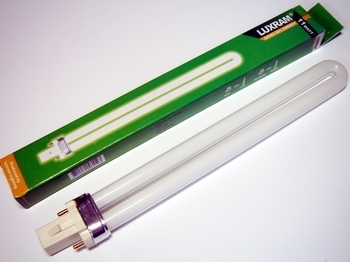 "<p> Kompakt-luminofoorlamp 11 W, Luxram Bona-S, 11W/840/G23, <span style=""color:#ff0000;"">2-PIN</span>, 608823111</p>"
