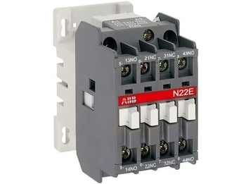 <p> Kontaktor 2NO + 2NC, 16A(10kW), N22E, ABB, 1SBH141001R8822</p>