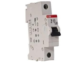 <p> Модульный автоматический выключатель 1-фазный, B 63A, ABB, S201-B63, 2CDS251001R0635</p>