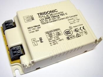 "<p> Elektrooniline <span style=""color: #ff0000"">LED</span> trafo LCI 20W 700mA TEC C, 13-29V, Tridonic, 87500190</p>"