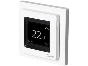 <p> Termostaat Danfoss ECtemp™ Touch Pure White, (16А) 3680 W, 088L0122</p>