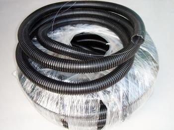 <p> Painduv elektriinstallatsioonitoru(kõri) Ø16mm, PVC, must, <strong>traadiga</strong>, PipeLife</p>