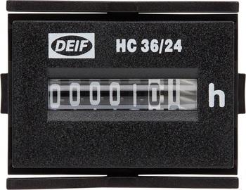 <p> Töötunni lugeja HC 36/24, Deif</p>