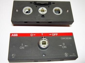 <p> Ümberlülituse mehhanism OWC6D80, ABB, 1SCA022865R4630</p>