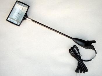 <p> Галогеновый светильник 150Вт, SL-2001, чёрный</p>