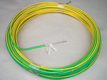 <p> Vask juhe 35 mm², kolla-roheline, kiuline, Draka</p>