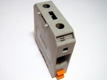 <p> Riviklemm 50 mm², hall, UKH50, Phoenix Contact, 3009118</p>