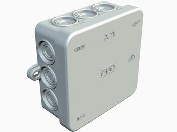 <p> Pinnapealne harukarp 85x85x40 mm, A11, OBO, 2000342</p>